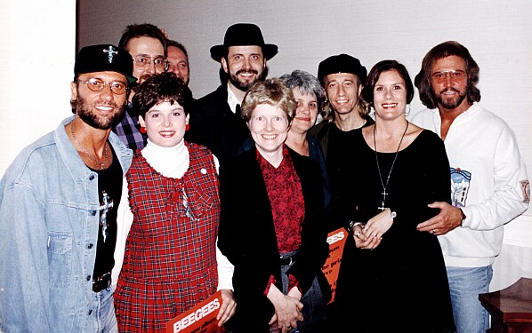 Reception Photo With The BeeGees - Atlanta �92