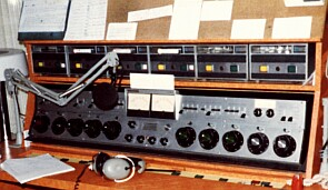 The Live/On-Air Control Board At Y103