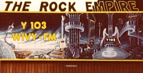 "Y103 ""The Rock Empire"" Billboard"